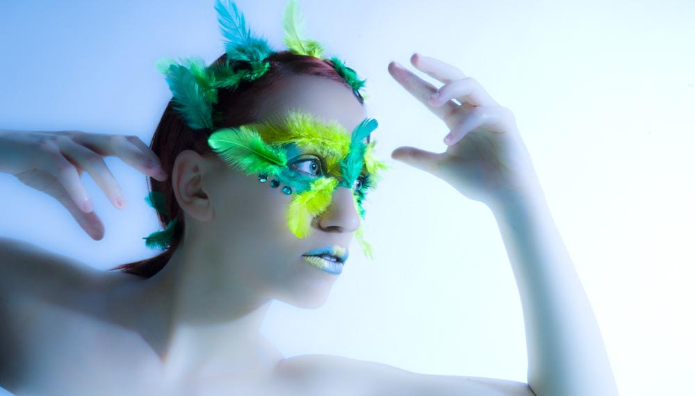 Extrem Make Up Fotoshooting Mit Visa Stuttgart